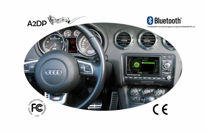 Fiscon Bluetooth laisvų rankų įranga Audi MMI 2G Pro